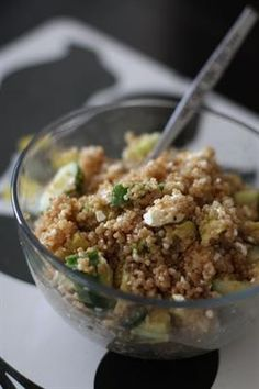 20 Detoxifying Cucumber Recipes to Cool You Down: Cool Cucumber and Quinoa Salad Bowl