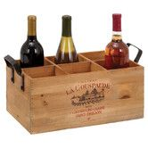 Found it at Wayfair - 6 Bottle Tabletop Wine Rack