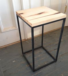 Reclaimed Hickory Side Table | Home Furniture | Fallen Made | Scoutmob Shoppe | Product Detail