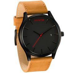 Black/Tan Leather
