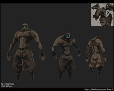 LOWPOLY (sub 1000~ triangle models) - Page 130 - Polycount Forum