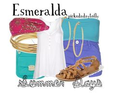 """Esmeralda"" by pickedadaytofly ❤ liked on Polyvore featuring Bench, ONLY, Marc Fisher, Astley Clarke, Stella & Dot, Splendid, Topshop and River Island"