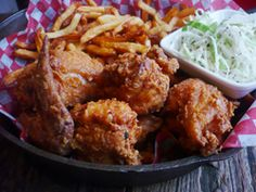 One of the ONLY things we miss about the West end. Stockyards Smokehouse & Larder. Best. Fried. Chicken.