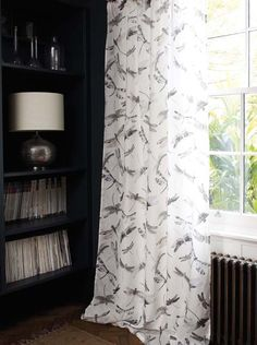 Matthew Williamson fabric from Osborne and Little available from Noctura interiors