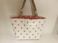 Coudre un sac cabas en toile cirée - Tuto Couture Madalena - YouTube