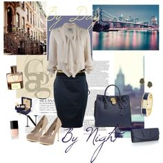 """""""By day & By Night"""" by doriana-d on Polyvore"""