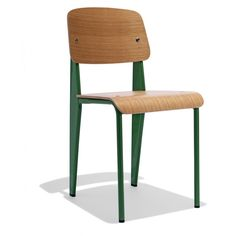Prouve+Chair — A nod to the iconographic French modernist Jean Prouve, the Prouve Standard Chair, just like its namesake, has a certain je ne sais quoi making it a contemporary solution for any space.