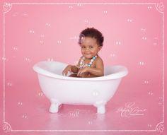 Baby Bath after Smash The Cake Eléonore Pignet  Paris