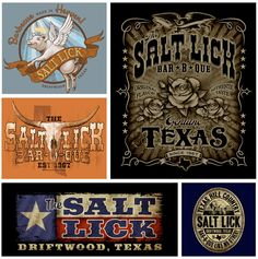 Custom Screen Printing in Austin, TX | Outhouse Designs | Our Work  The Salt Lick BBQ.