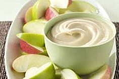 Caramel Cream Cheese Dip 1 pkg. (8 oz.) Cream Cheese, softened ½ cup firmly packed brown sugar ½ tsp. vanilla Beat cream cheese in small bowl with electric mixer on medium speed until creamy. Add brown sugar and vanilla; beat until well blended. Serve with apple wedges for dipping.
