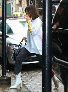 bel-hadid: Bella Hadid out in New York City