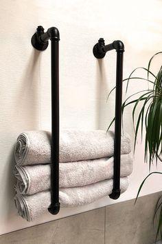 Modern Industrial Decor, Industrial Living, Ikea Industrial, Big Living Rooms, Boho Bathroom, Room Inspiration, Home Furniture, Interior Decorating, Sweet Home
