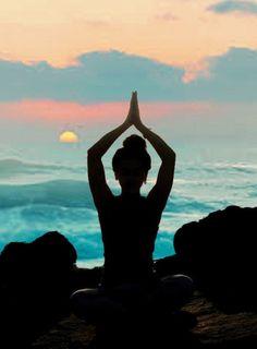 perfect, beach yoga