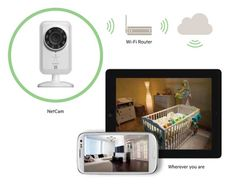Best Baby Monitor Ever. Watch on your smart device ANYWHERE.