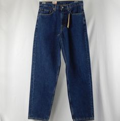 adbe433d679 Levis 560 Comfort Fit Jeans Mens Size 33x34 Relaxed Through Thigh Tapered  Leg  Levis