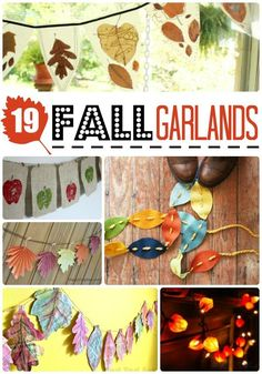 19 easy fall garland