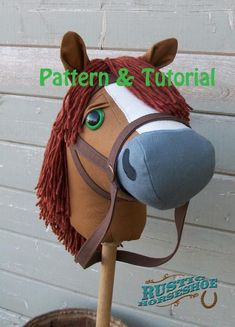 Stick Horse Sewing Pattern and Tutorial Mustang Collection Stick Horse Hobby Horse Pattern with Unicorn Hobbies For Women, Easy Hobbies, Stuffed Animals, Stick Horses, Horse Pattern, Hobby Horse, Hobby Room, Hobby Lobby