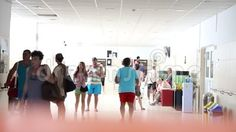 Video about Sanatorium Techirghiol - interior corridor crossed by people. Video of balneary, romanian, bath - 76369306