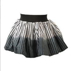 I would definitely wear this for dance! Gray Skirt, Stripe Skirt, Alternative Clothing Brand, Dip Dye, Dance Wear, Monochrome, Vintage Inspired, Vintage Fashion, Stylish