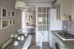 откатная дверь на кухню