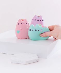 Shop for Pusheen plush, clothing, and more- including products EXCLUSIVE to Pusheen Shop! Pusheen Shop, Pusheen Cute, Pusheen Stuff, Silly Squishies, Unicorn Pillow, Unicorn Bedroom, Aesthetic Objects, Figet Toys, Slime And Squishy