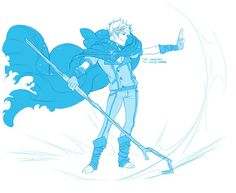 Jack the Winter Prince ...  Jack Frost, Rise of the Guardians