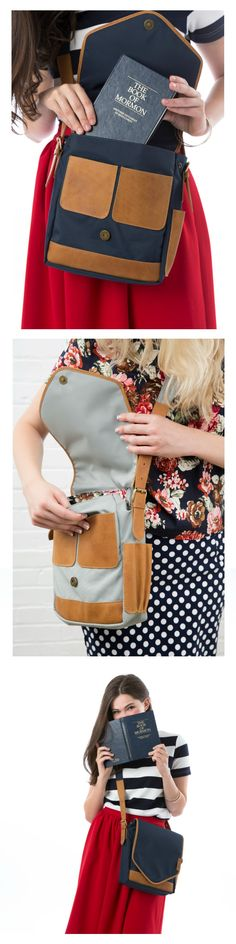 The Perfect Sister Missionary Bag. It was designed by an RM sister to be exactly what it should be!