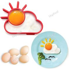 солнце в форме силикагель омлет плесень кольцо готовить инструменты матч цвет HKI-403964