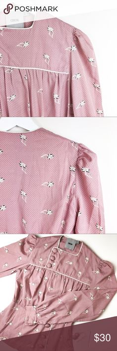 ASOS long sleeved top NWOT - Very unique and cute top . Never got to wear it :(  . Runs small Asos Tops Blouses