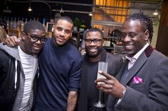 Raymond Weil - 2013 Classic Brit Awards - Josh McKenzie, Reggie Yates and guests