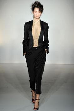 Tux Jacket & Pants with Halter Top (Vivienne Westwood Red Label Fall 2012 RTW)