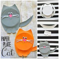 Dzień kota - napisy i pomysły na prace plastyczne - MAŁE pomysły - DUŻE inspiracje