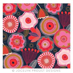 Surface Pattern Design, Pattern Art, Color Patterns, Repeating Patterns, Pattern Wallpaper, Textile Design, Paper Cutting, Red And Pink, Print Design