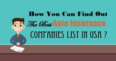 Are you finding the right auto insurance companies list in USA? Then you must stop your search at USA in Business, which have … view this ad now! Best Auto Insurance Companies, Companies In Usa, Car Insurance, Cool Cars, Automobile, Ads, Good Things, Car, Autos