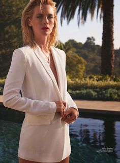 """Duchess Dior: """"The Devil in Miss Jones"""" January Jones by David Roemer for Marie Claire UK May 2015"""