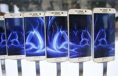 Samsung unveils sleek new Galaxy phones to take on Apple