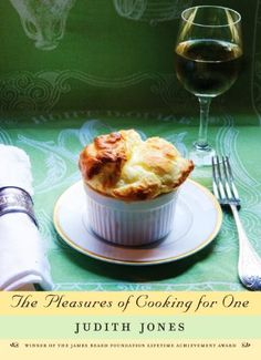 The Pleasures of Cooking for One by Judith Jones http://www.amazon.com/dp/0307270726/ref=cm_sw_r_pi_dp_kjkStb0AKP1AERPV
