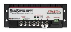 Morningstar's SunSaver MPPT™ solar controller with TrakStar™ Technology is an advanced maximum power point tracking (MPPT) battery charger for off-grid PV systems.