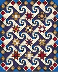 """shakespeare in the park quilt - be sure to google the images for ideas. Found in Judy Martin's book: http://www.judymartin.com/products.cfm?action=detail&prod=6&CatID=1, or Digital pattern can be found in this magazine, called """"Batik Jewel"""" https://www.shopfonsandporter.com/product/fons-porter-love-of-quilting-july-august-2005-digital-issue/?utm_source=ls&utm_medium=affiliate&siteID=je6NUbpObpQ-LxBgv.W2MknXtOSFcETqAQ"""
