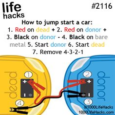 Improve your life one hack at a time. 1000 Life Hacks, DIYs, tips, tricks and More. Start living life to the fullest! Hack My Life, 1000 Life Hacks, Simple Life Hacks, Useful Life Hacks, The More You Know, Good To Know, Lifehacks, Making Life Easier, Car Hacks