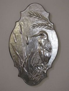 Egret, one of my favorite all my metal embossing was learn from a very dear friend Maria Luisa