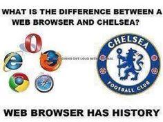 Przeglądarka internetowa posiada historię • Różnica między wyszukiwarką a Chelsea Londyn • Zabawne foty w piłce nożnej • Zobacz >> #chelsea #football #soccer #sports #pilkanozna #funny