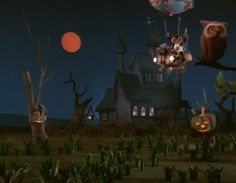 Halloween time from Here Comes Peter Cottontail. 1971. Rankin & Bass.