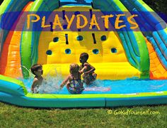 Come check out and link up some really fun playdate ideas at our PLAYDATES Blog Hop.