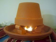 A friend pointed me to a video for making this space heater made of terracotta pots. I was intrigued and thought it would be a great resource during the winter in the event of a power outage &#8211…
