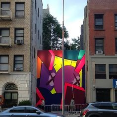 New Mural by KAWS in Brooklyn // New York City (5 Pictures)