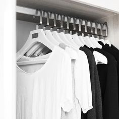 """""""Yesterday I got some and now I don't want to close my wardrobe because they look really good haha! They are incredibly sturdy have have…"""" Chic Minimalista, Minimalist Closet, Minimal Fashion, Then And Now, Shirt Style, Personal Style, My Style, How To Wear, Inspiration"""