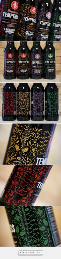 Lakewood Temptress Series - Packaging of the World - Creative Package Design Gallery - http://www.packagingoftheworld.com/2016/03/lakewood-temptress-series.html
