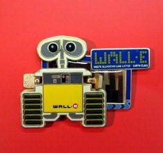 Disney RARE Pin 67097 Disneyland Resort Paris LE 900 WALL-E Pin