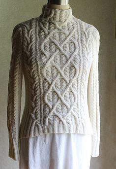 Lovely sweater! Shakespeare in Love pattern by Carol Sunday
